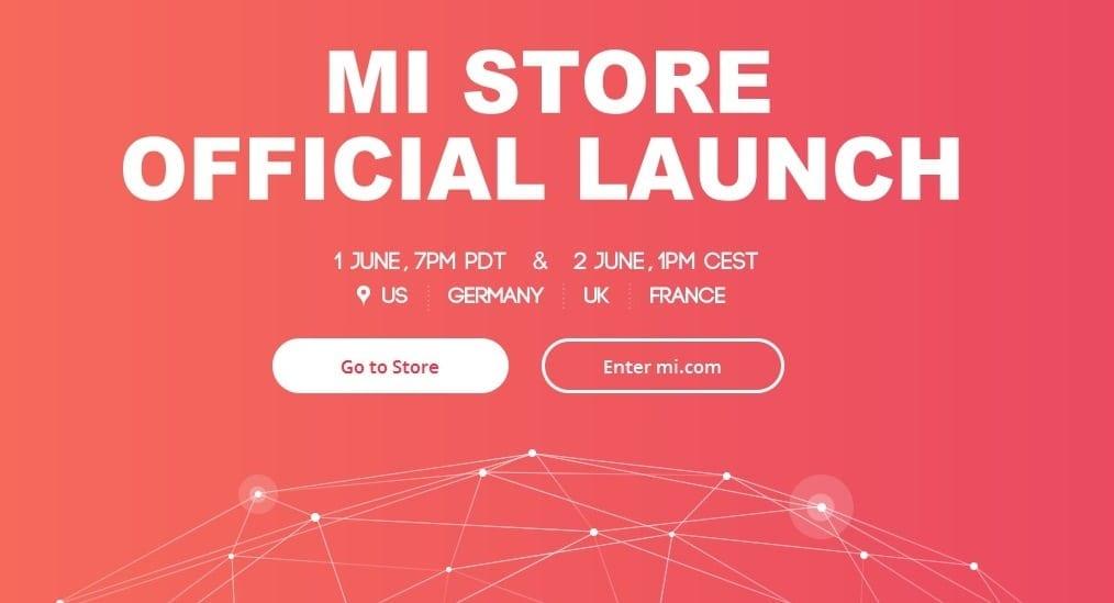Xiaomi își deschide magazin online în Germania, Franța, Regatul Unit și SUA