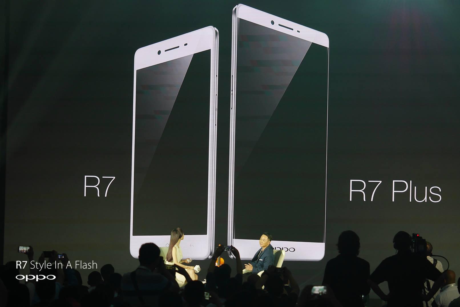 Oppo a lansat smartphone-urile R7 și R7 Plus