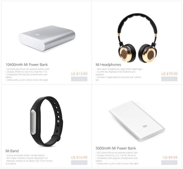Xiaomi accesorii