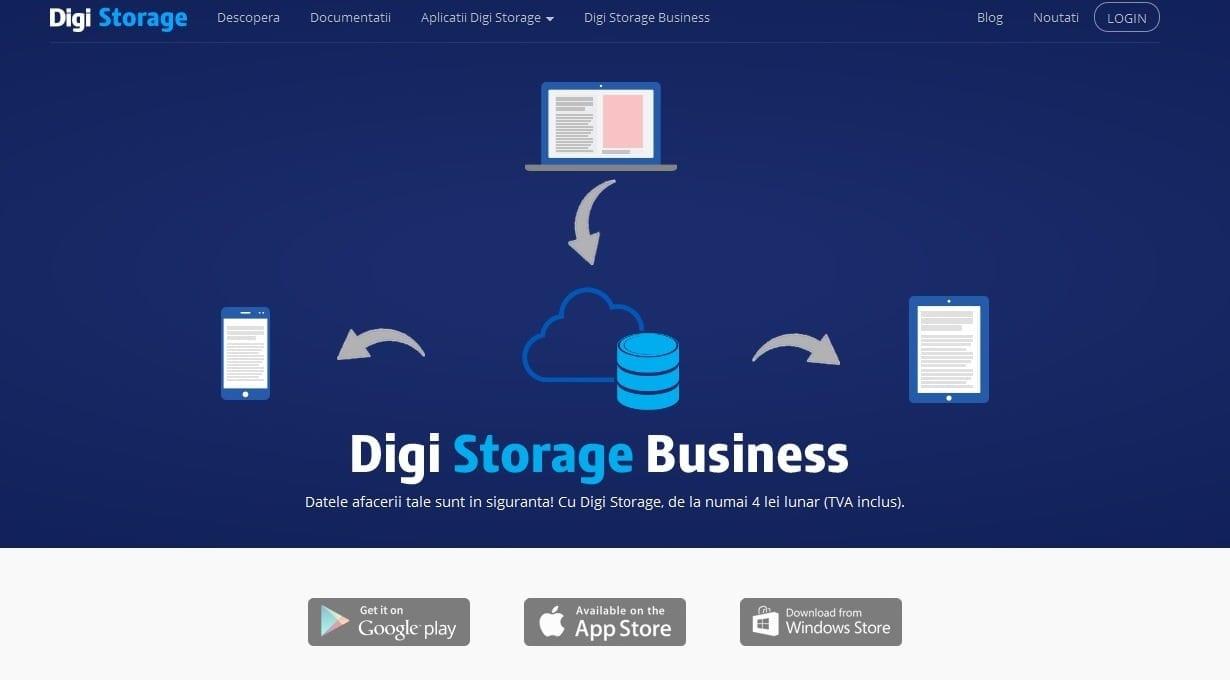 RCS & RDS lansează Digi Storage pentru clienții persoane juridice