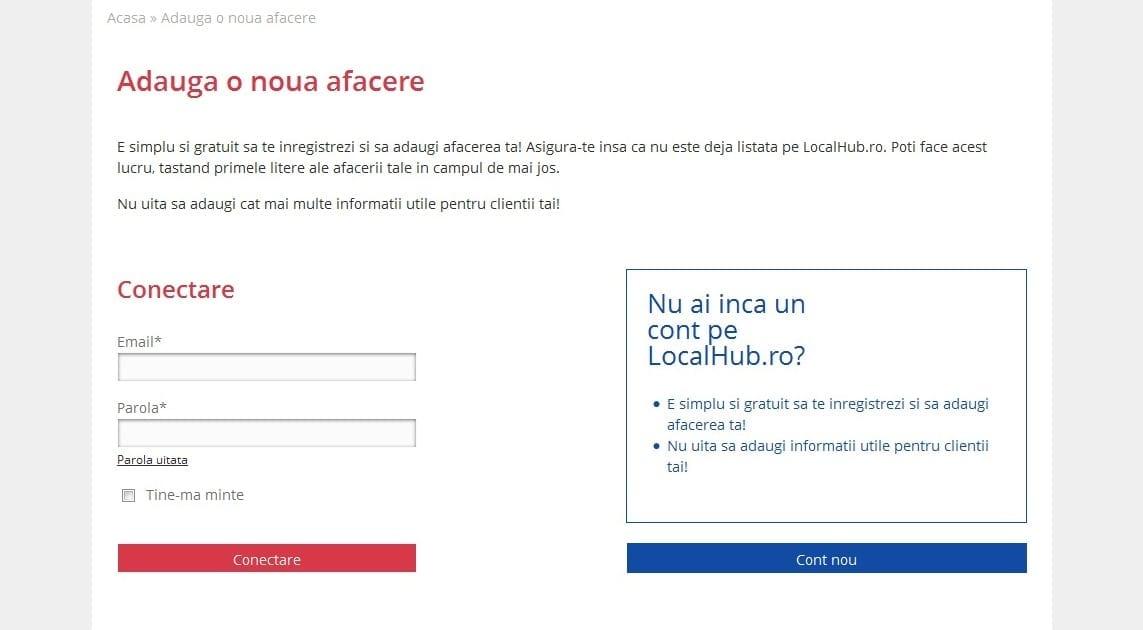 LocalHub.ro Telekom