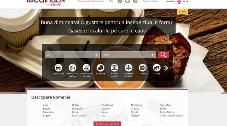 Telekom Romania lansează platforma LocalHub.ro