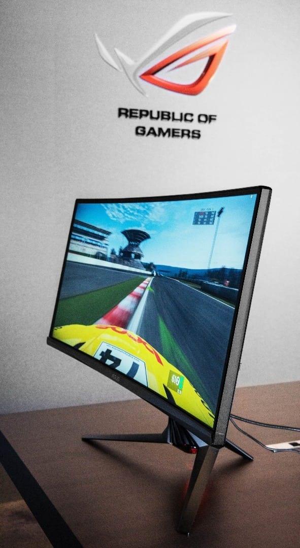 ROG 34-inch Curved G-SYNC Monitor