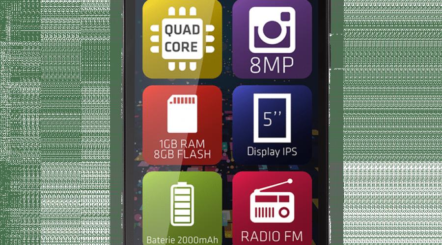 Evolio prezintă smartphone-ul M5