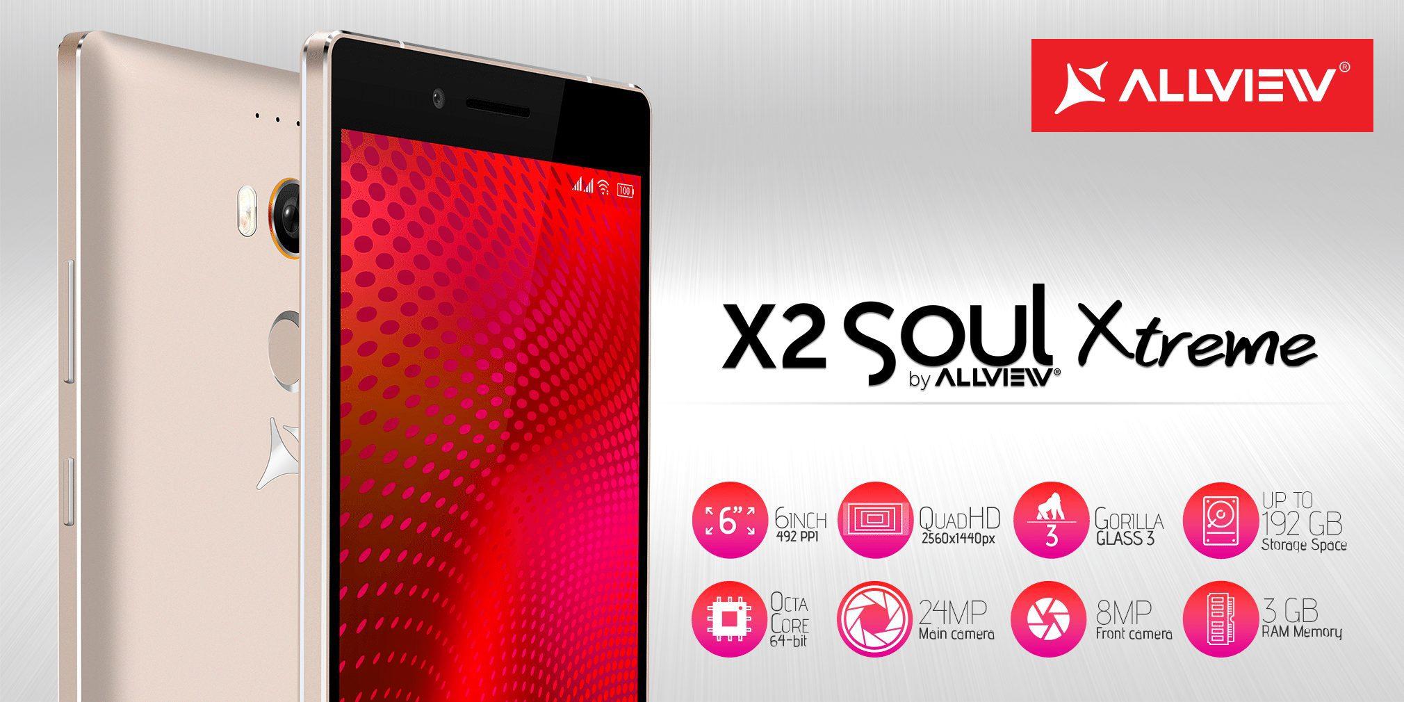 Allview a anunțat X2 Soul Xtreme, cel mai performant și cel mai scump produs al companiei
