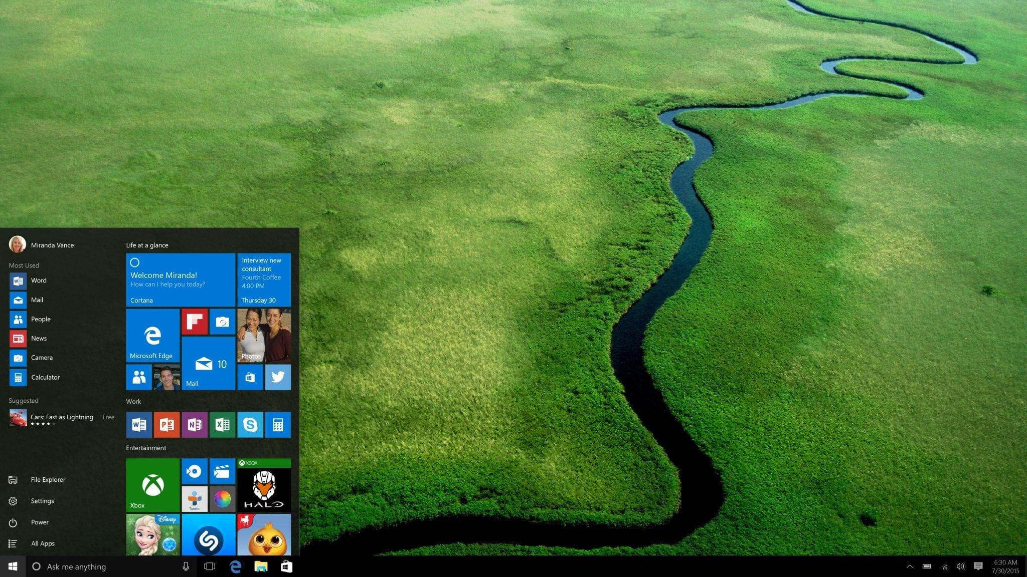 Microsoft reconfirmă: Windows 10 se lansează global pe 29 Iulie