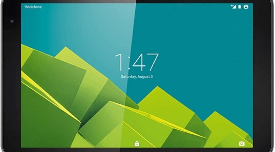 Vodafone prezintă Tab Prime 6, o tabletă 4G cu procesor quad core
