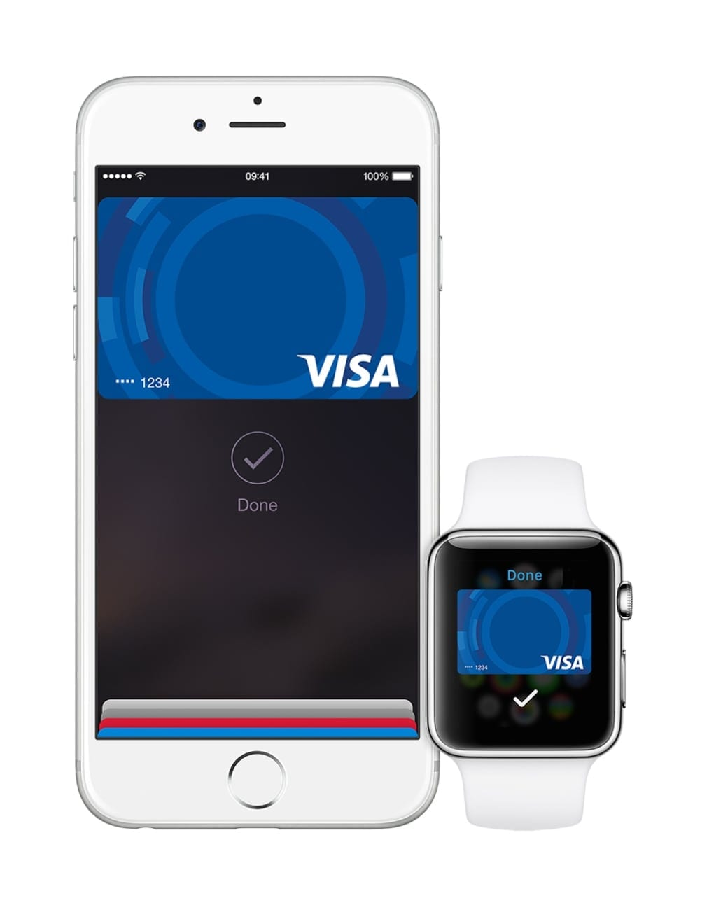 iPhone watch Visa