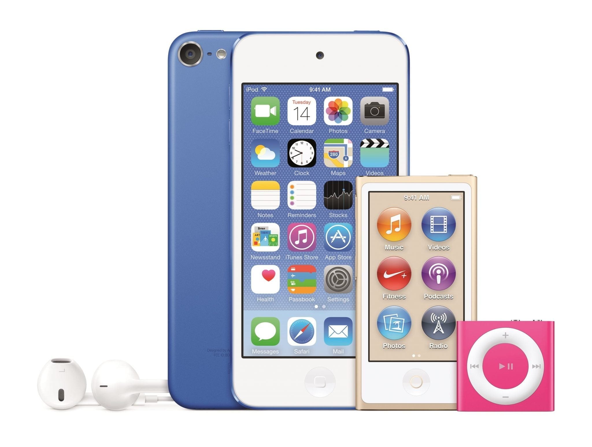 Apple a prezentat noile modele iPod touch