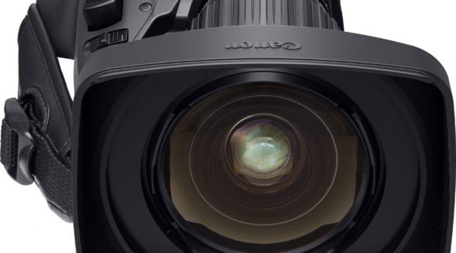 Canon prezintă cel mai larg obiectiv portabil de transmisiuni 4K de 2/3 inchi din lume