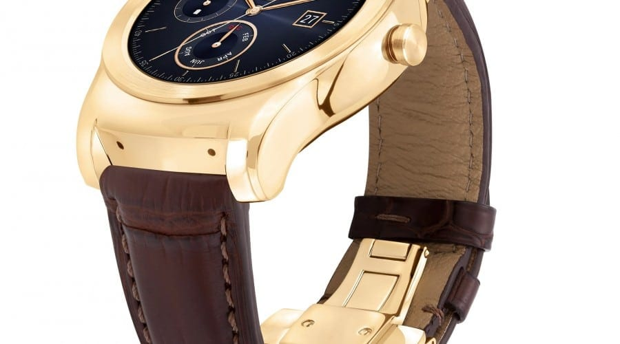 LG Watch Urbane Luxe, un smartwatch exclusivist, cu aur