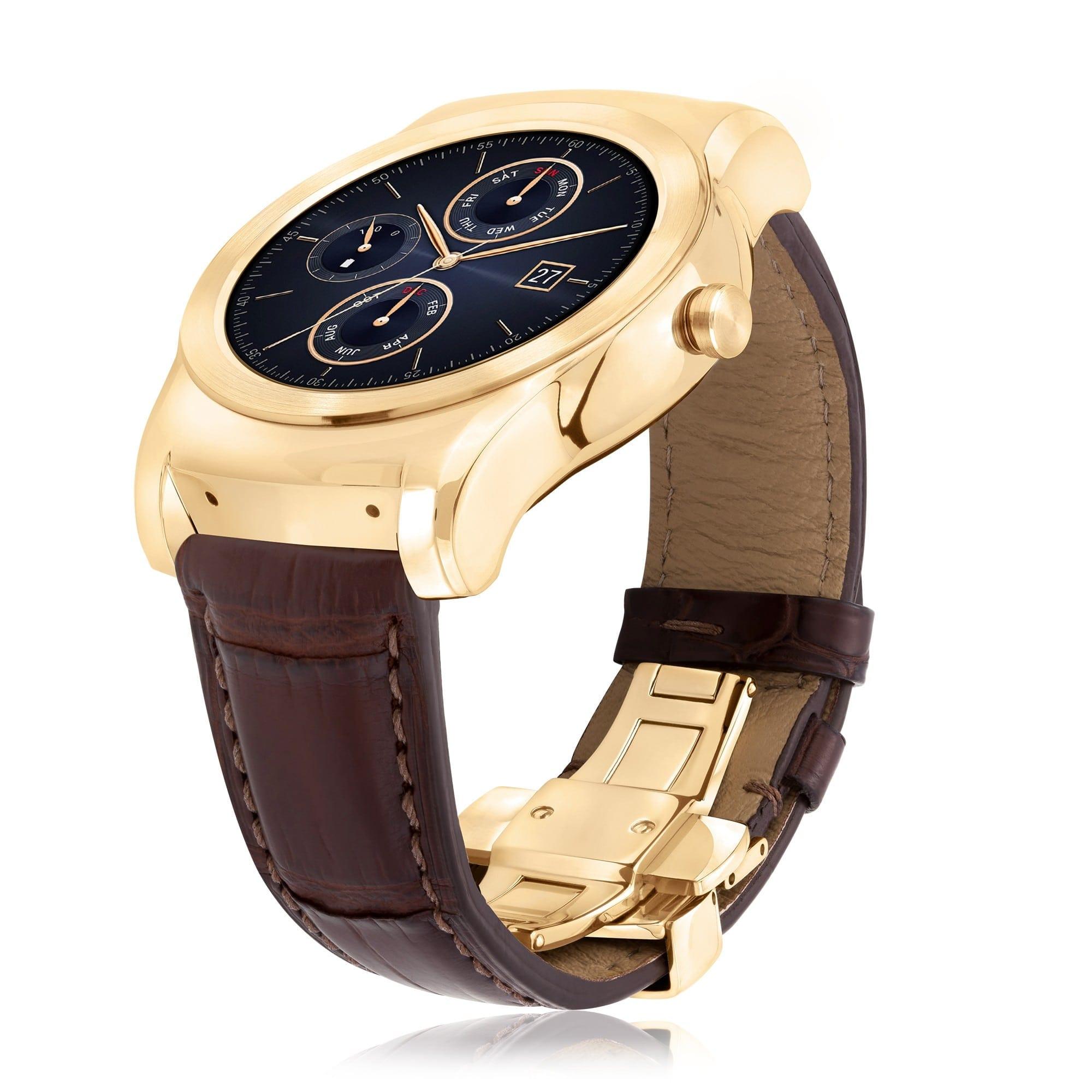 LG Watch Urbane Luxe, un smartwatch exclusivist, cu aur