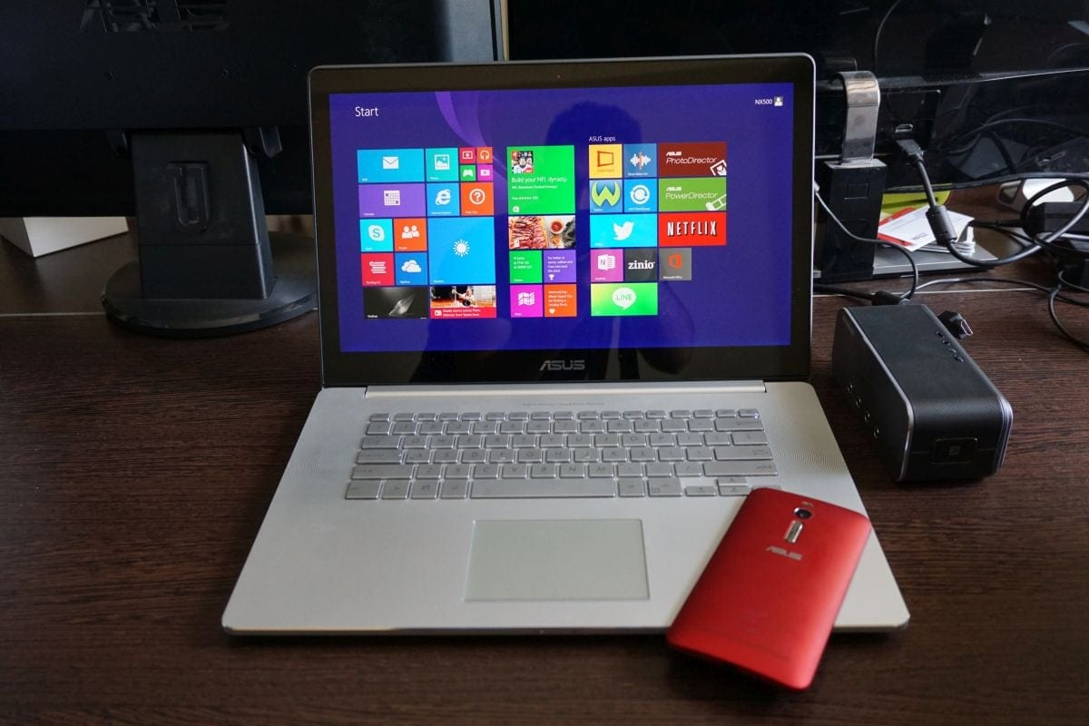 Asus Zenbook NX500 review: Puternic și elegant