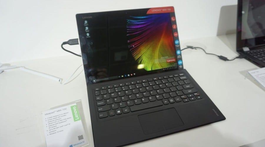 IFA 2015: Lenovo Idea Miix 700, o clonă de Surface cu procesor Intel Core m7