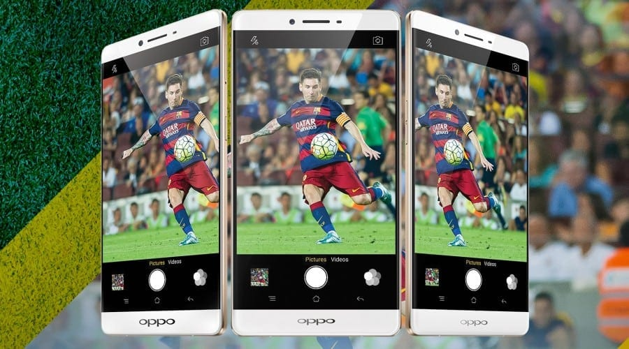 Oppo introduce smartphone-ul R7 Plus FC Barcelona Edition