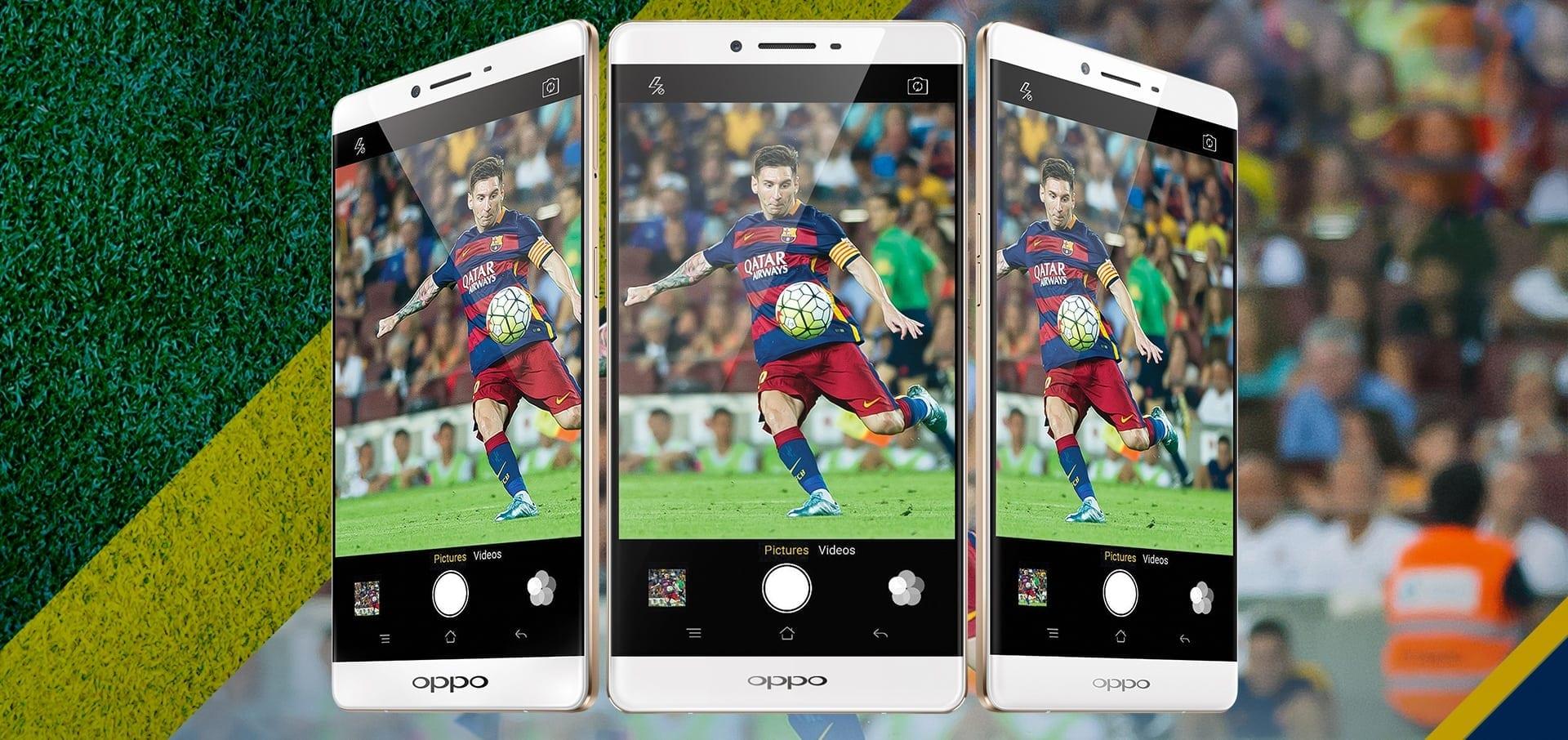 Oppo introduce smartphone-ul R7 Plus FC Barcelona Edition