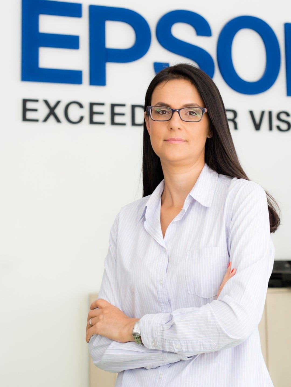 Simona Decuseara Sales & Marketing Manager Epson Romania si  Bulgaria