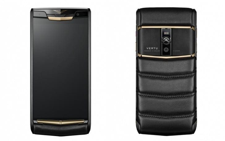 Vertu a introdus noul Signature Touch, un smartphone de lux upgradat