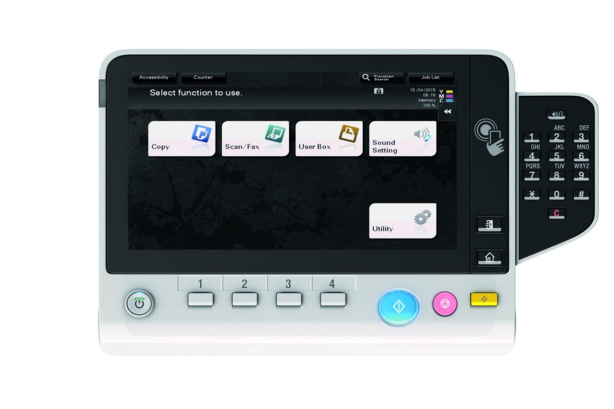 Konica Minolta lansează echipamentele office color bizhub C308 și bizhub C368 pentru un stil de lucru mobil