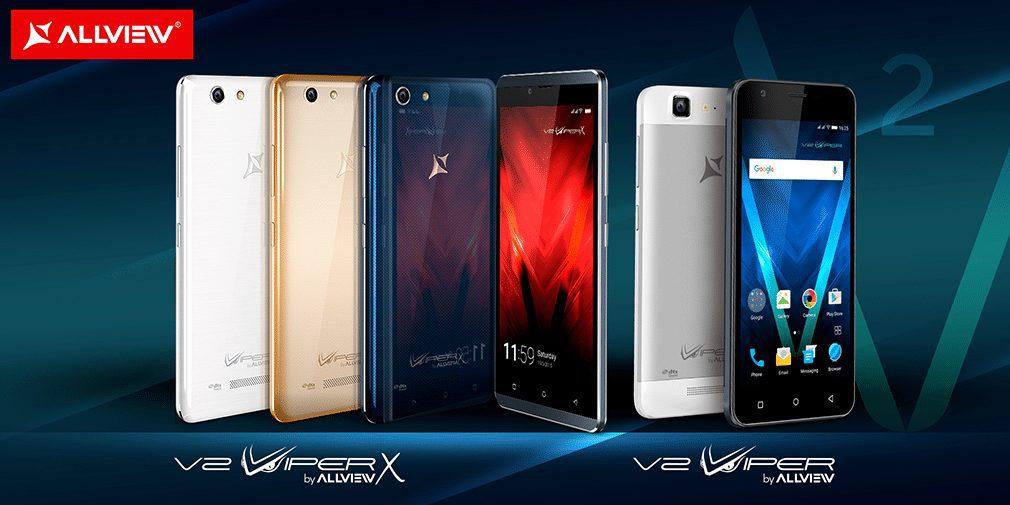 Allview a prezentat noua generație de smartphone-uri din gama Viper