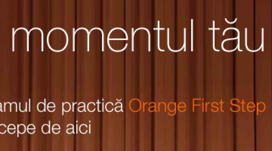 Orange anunță o nouă sesiune a programului de practică Orange First Step