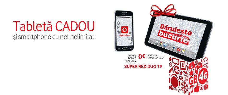 Vodafone introduce noi abonamente și  lansează campania Dăruiește Bucurie de Sărbători