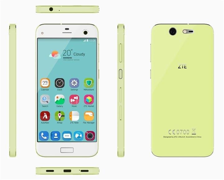 ZTE smartphone Blade S7