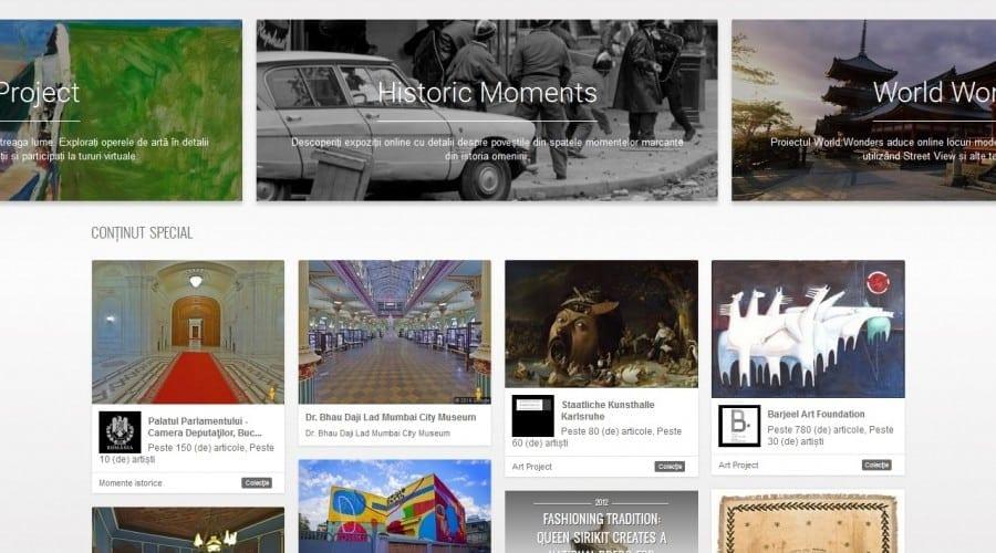 Nou pe Google Cultural Institute:  tur virtual la Palatul Parlamentului, tradiții transilvănene și tablouri în cele mai mici detalii din Muzeul Național Brukenthal