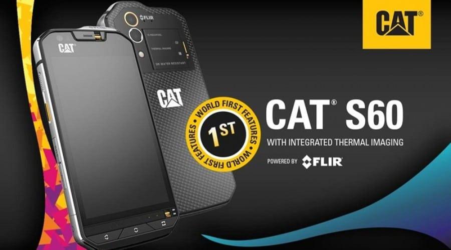 MWC 2016: Cat S60, primul smartphone din lume cu cameră termică integrată