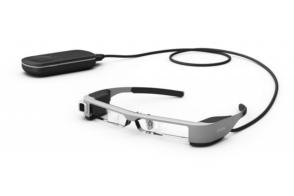 Epson Moverio BT-300, cei mai ușori ochelari inteligenți OLED din lume