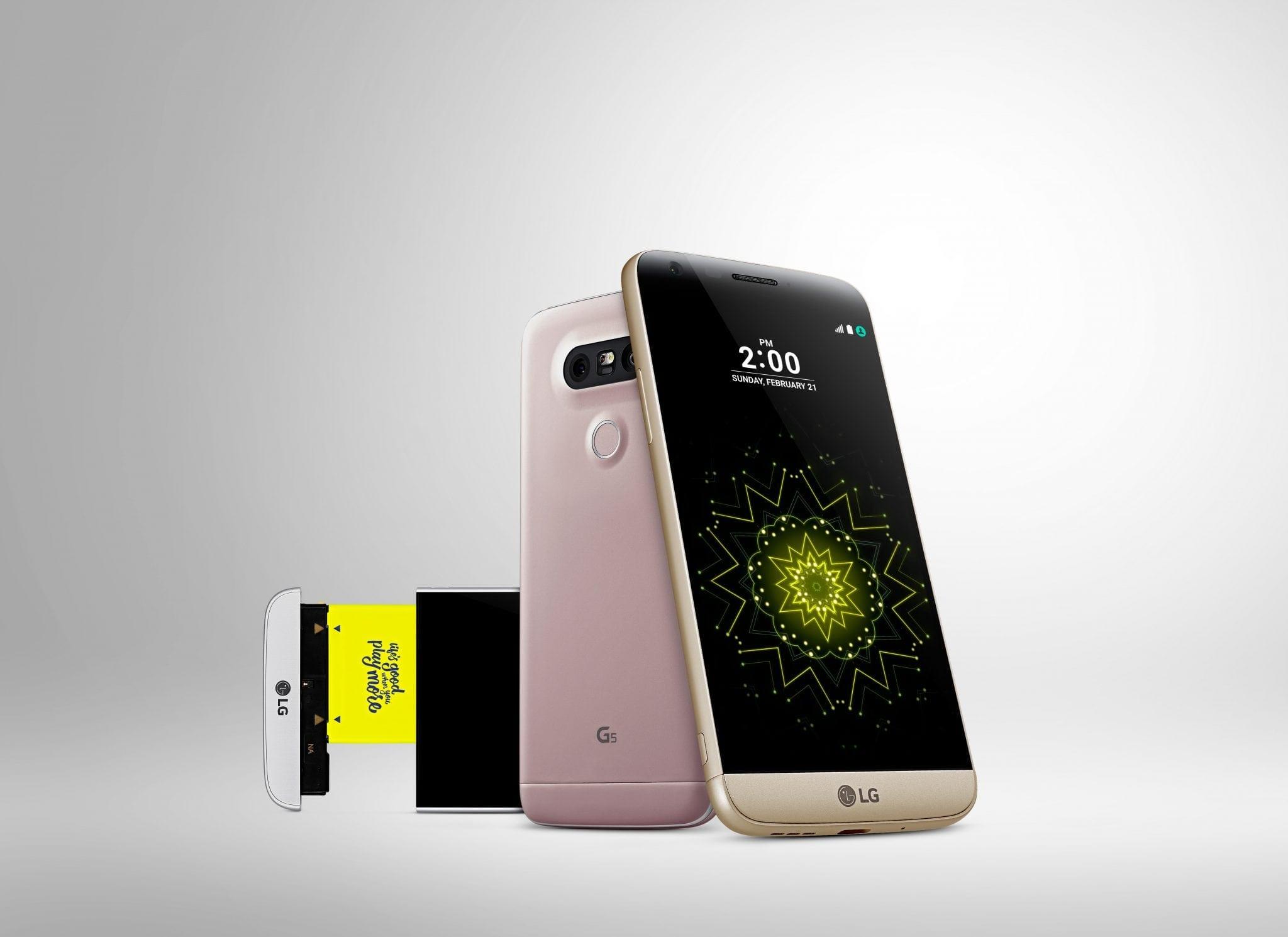 MWC 2016: LG G5 primul smarthone high end cu design modular!
