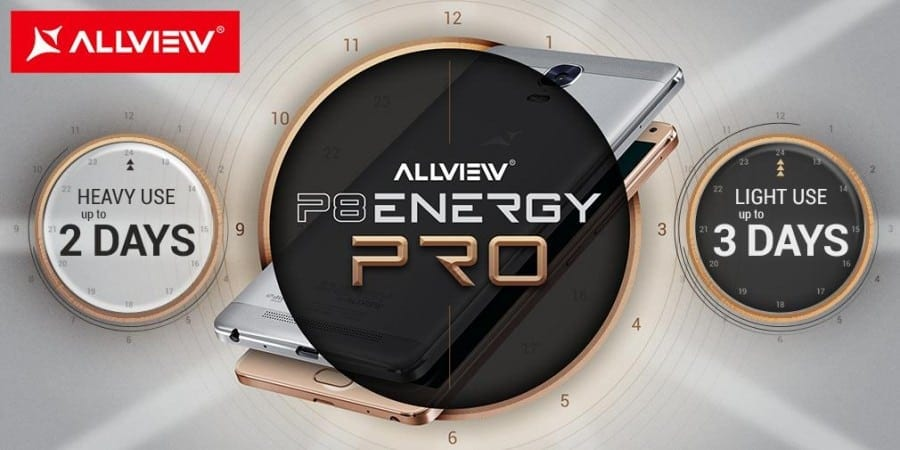 P8 Energy PRO, cu baterie de  5020 mAh