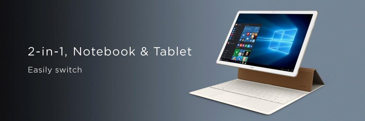 MWC 2016: Huawei MateBook, un device 2 în 1 pentru segmentul business