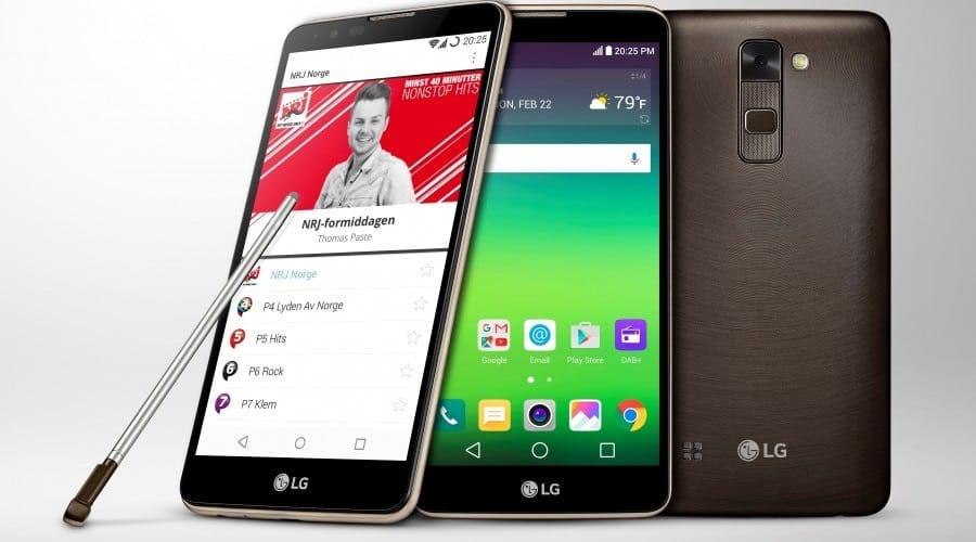 LG Stylus 2, primul smartphone cu DAB+