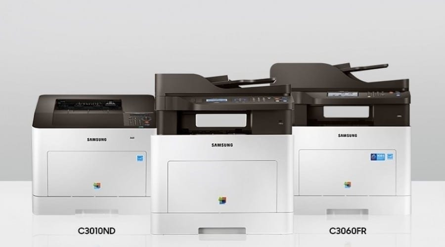 Samsung anunță gama de imprimante multifuncționale ProXpress C30