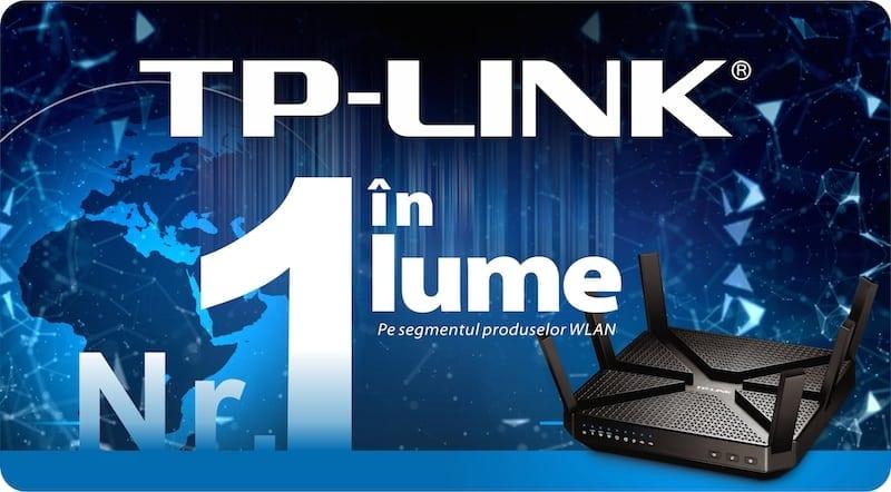 TP-LINK este numărul 1 pe piața globală de echipamente Wi-Fi, pentru al cincilea an consecutiv