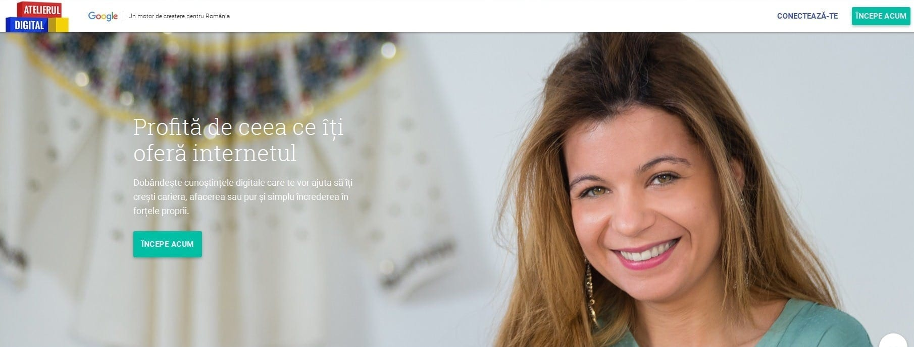 Google prezintă Atelierul Digital, o platformă gratuită dedicată studenților și antreprenorilor din România