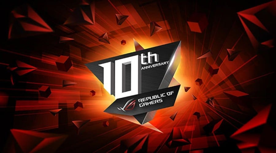 ASUS Republic of Gamers a împlinit 10 ani