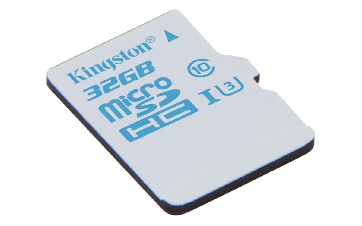 Kingston lansează cardul microSD pentru camerele video de acțiune