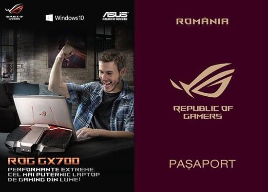 ASUS ROG GX700 îți aduce garantat o excursie în doi în Europa