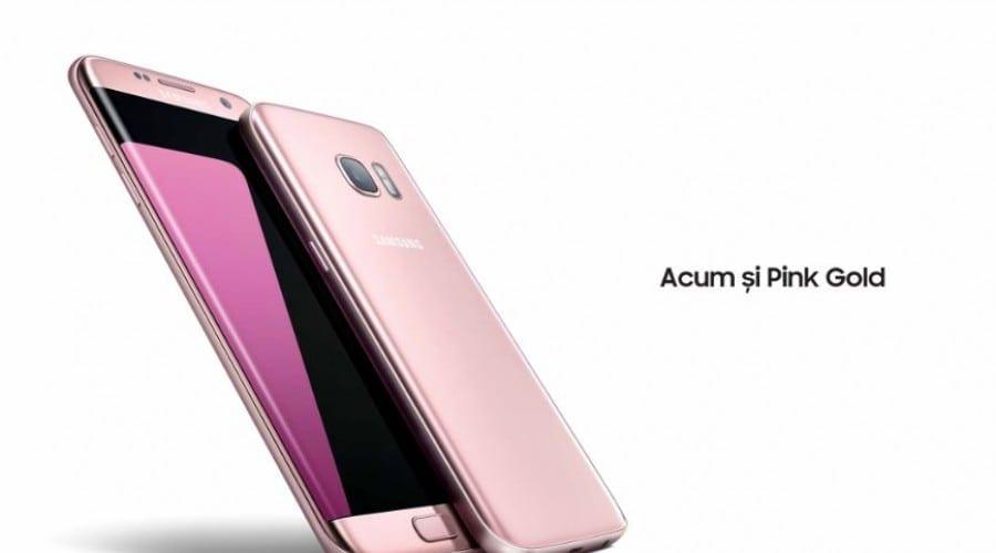 Galaxy S7 și S7 edge, disponibile și în variantele Pink Gold și Silver Titanium