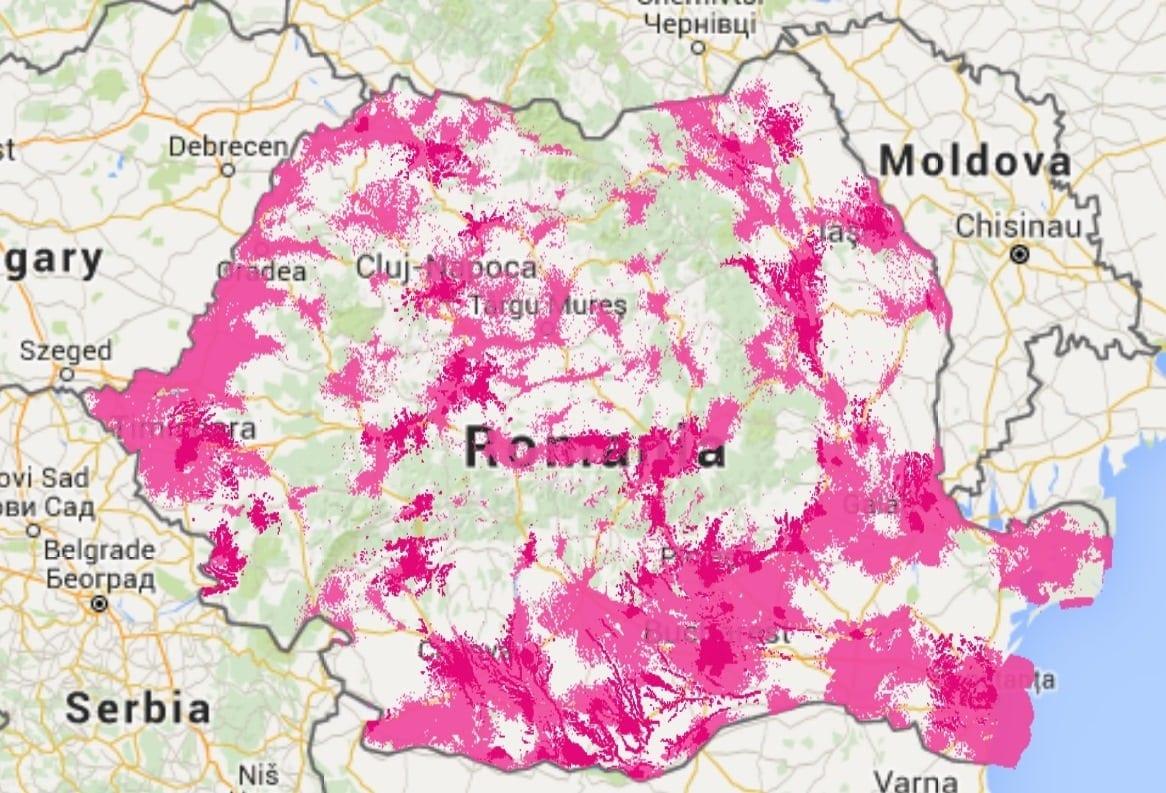 Telekom a extins rețeaua 4G, acoperă 96% din populația urbană