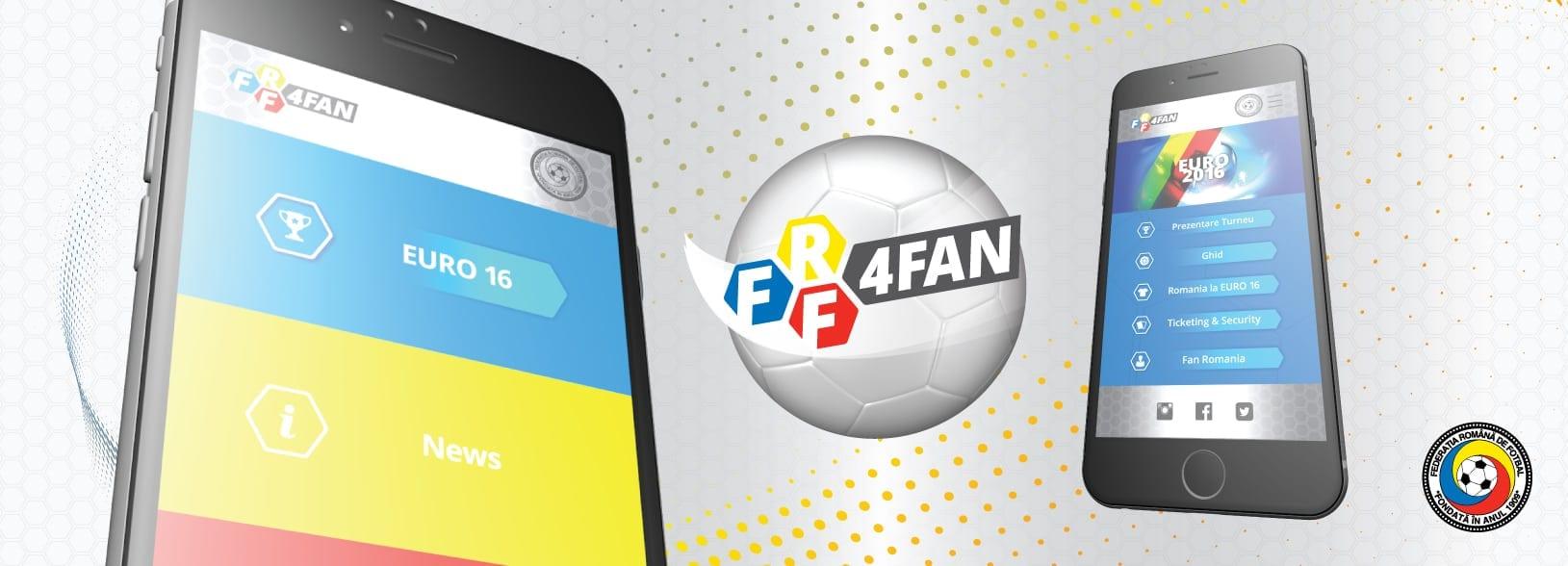 Euro 2016 bate la ușă: iată cum descarci aplicaţia FRF4FAN, dedicată suporterilor Naționalei!