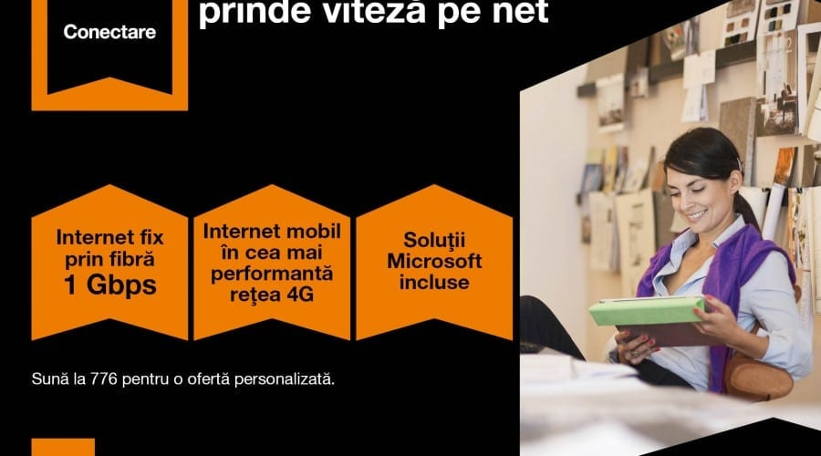 Orange prezintă oferta convergentă pentru start-up-uri și companiile mici și mijlocii