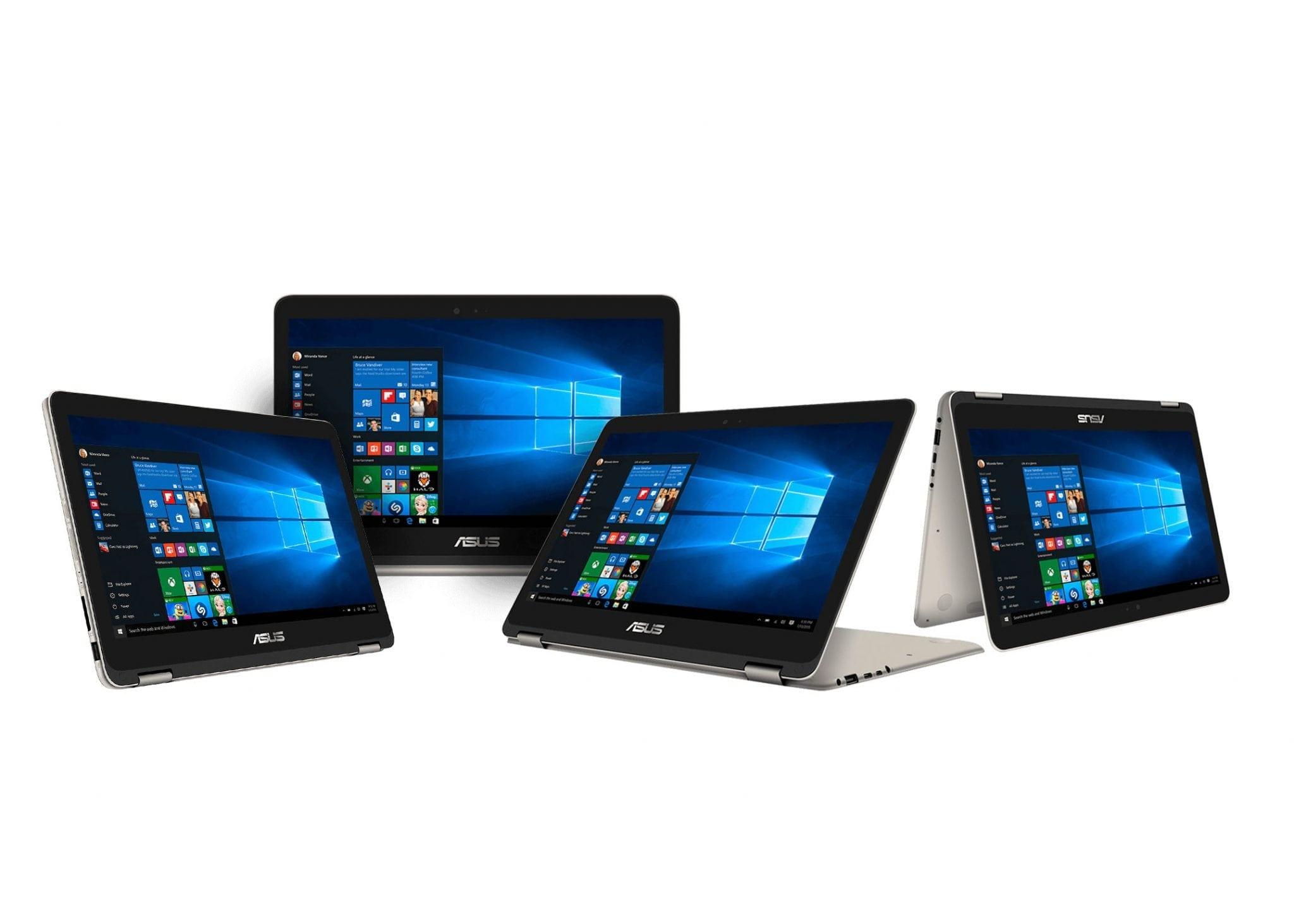 ASUS ZenBook Flip UX360CA intră pe piața noastră, modelul convertibil permite rotirea ecranului la 360°