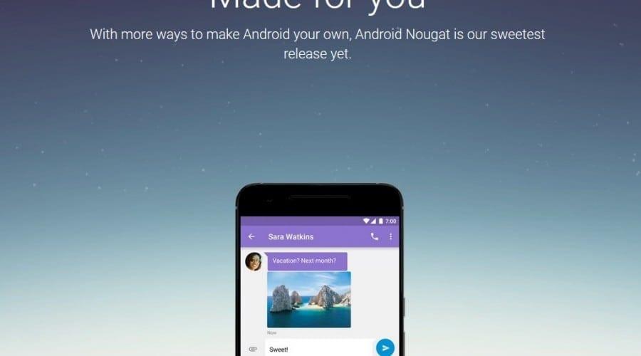Android Nougat: disponibil în primă fază pentru modelele Nexus