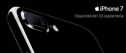 iPhone 7 și iPhone 7 Plus disponibile la precomandă la Orange