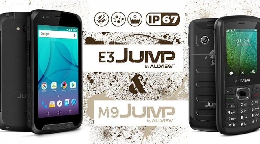 E3 Jump și M9 Jump, primele terminale rugged semnate Allview