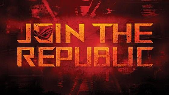 ASUS Republic of Gamers te invită la turneul Join The Republic