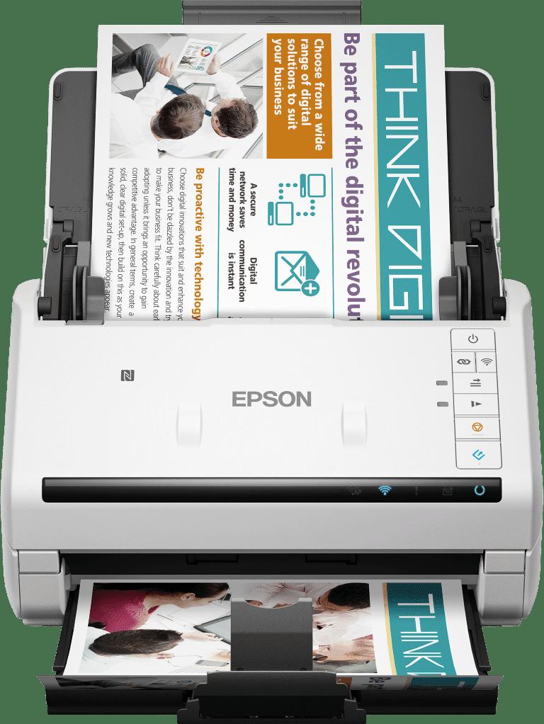 Epson introduce patru noi scanere business